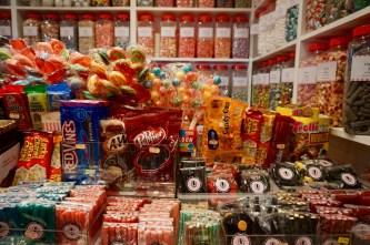 Süßigkeiten in London