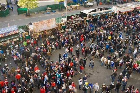 Twickenham-Stadion mit Zuschauern