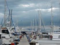 Yachten auf Malolo Lailai