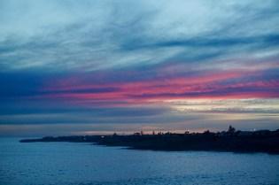 Sonnenuntergang Western Cape