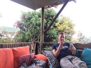 Erholung auf der Terrasse