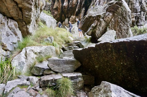 Felsen am Tafelberg