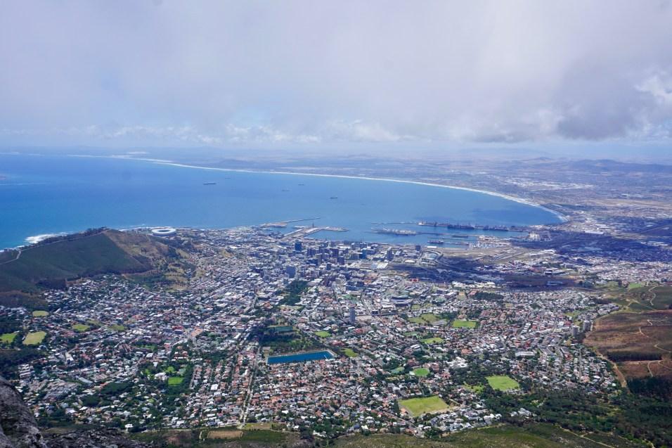 Kapstadt und Tafelberg