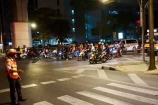 Die Straßen Bangkoks