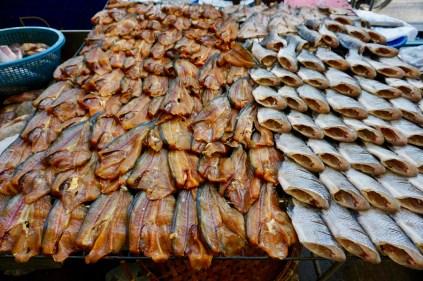 Khlong Toei Market in Bangkok