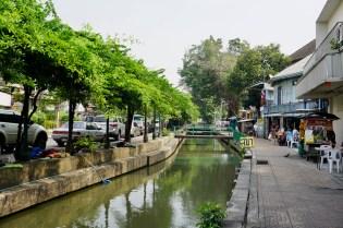 Viele Kanäle gibt es noch in Bangkok