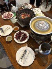 Tischgrill auf Koh Chang