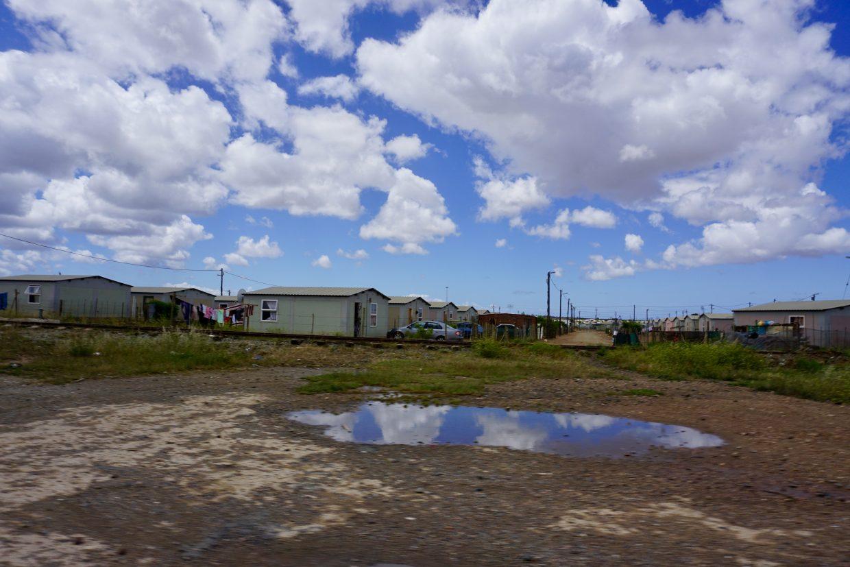 Wohngegend in Südafrika