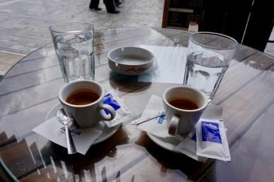 Espresso-Pause