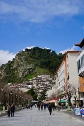 Fußgängerzone von Berat