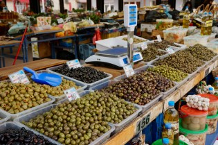 Oliven auf dem Markt