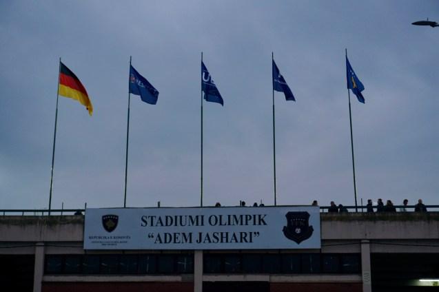 Fußball-Stadion in Mitrovica