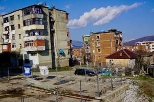 Baufällige Häuser in Albanien