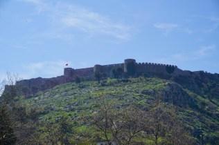 Albanien hat viele alte Burgen