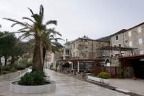 Strandpromenade an der Adria