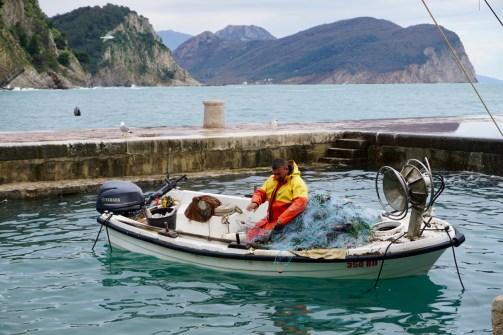 Fischfang in Montenegro