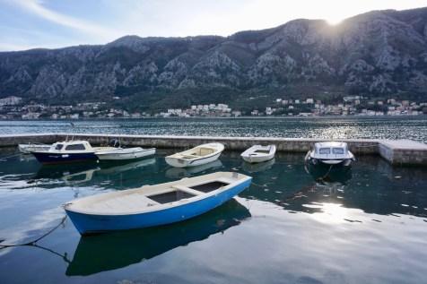 Fischerboote am Kai