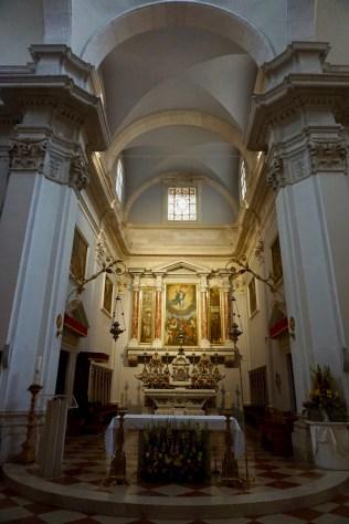 Verzierte Kathedrale von innen