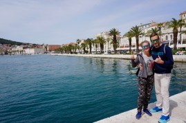 Gruppenbild in Split