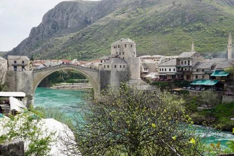 Frühling in Mostar