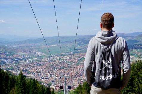 Sarajevo von oben