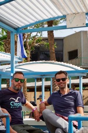 Floating kann man in Israel testen