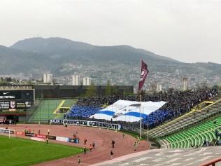 Choreo im Fußballstadion