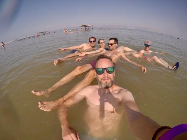 Floating-Spaß in Israel