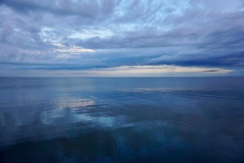 Wolken und Wasser der Ostsee