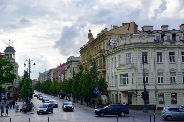 Barock-Gebäude im Stadtbild