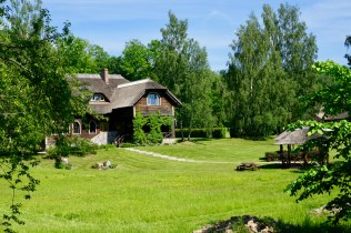 Wohnhaus im Gauja Nationalpark
