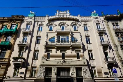 Jugendstil-Gebäude