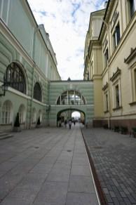 Nebeneingang zum Museum