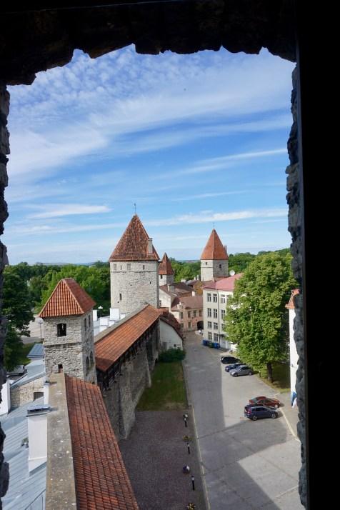 Besichtigung der Stadtmauer