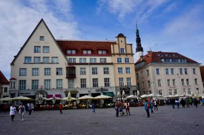 Estnischer Rathausmarkt