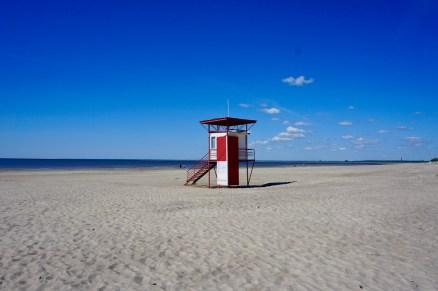 Badeaufsicht am Strand
