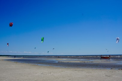 In der Ostsee kann man kiten
