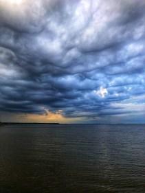 Regenhimmel in Litauen