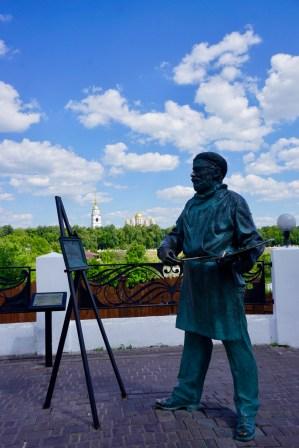 Künstler im Nordosten Moskaus