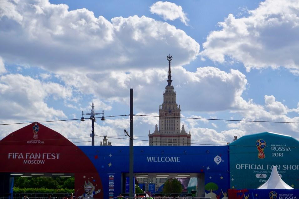 WM 2018 Fanfest Moskau