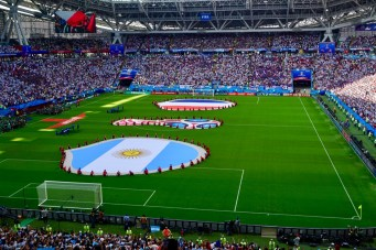 WM 2018 Achtelfinale Argentinien-Frankreich