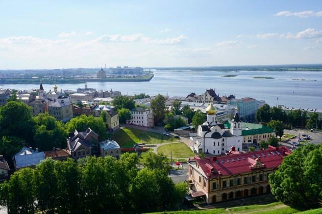 Flusslauf in Russland