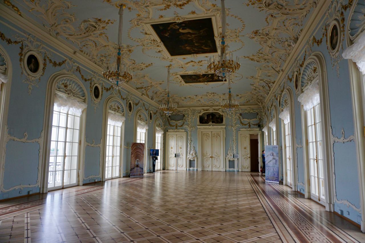 Saal im Museum in Russland