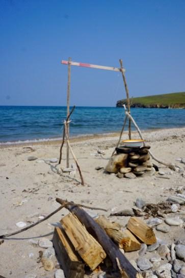Camping am Baikal-See