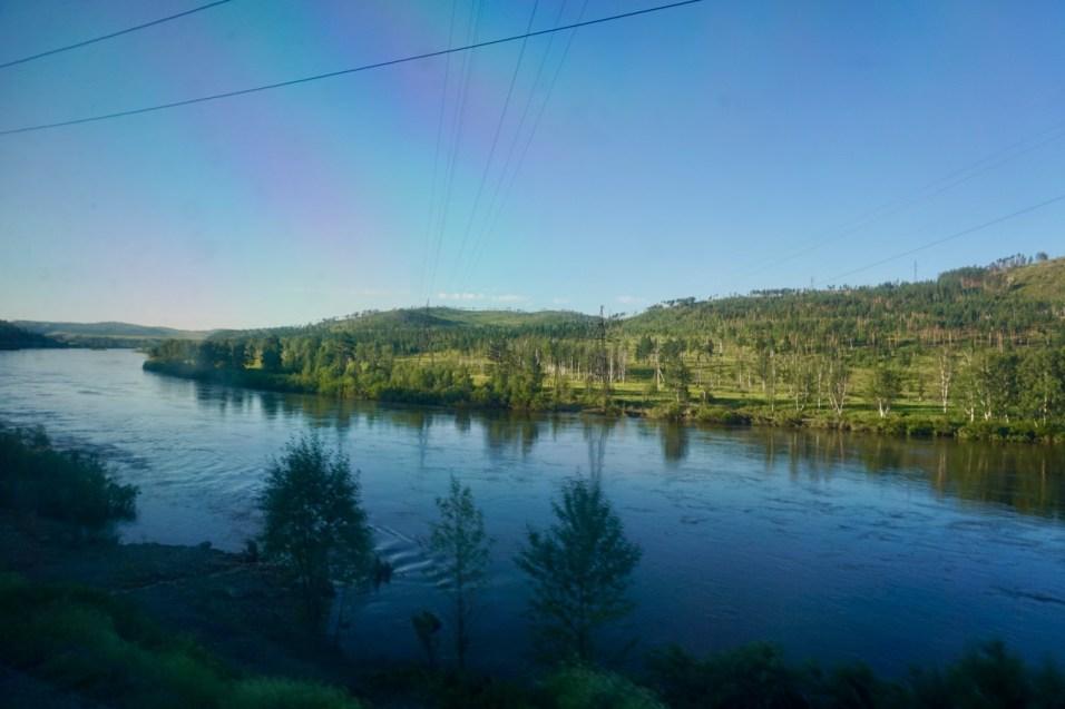 Fluss Amur in Sibirien