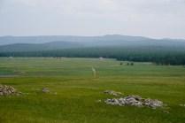 Natur am Baikal-See