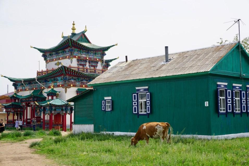 Ivolginskiy Datsan in der Nähe von Ulan-Ude