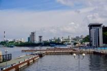 Wladiwostok mit Uferpromenade