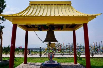 Glocke am Tempel in Ulan-Ude