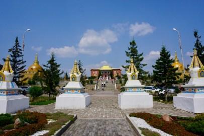 Große Tempelanlage in Ulan-Ude